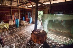 Bamboo floor home