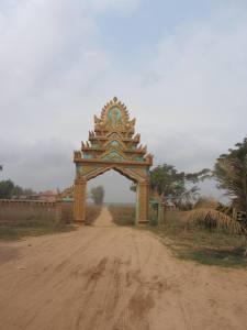 Wat entranceway, Krong, Kampong Cham
