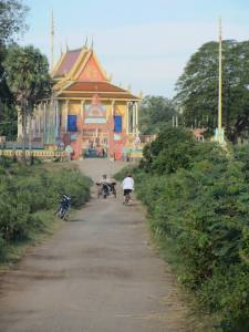 Track to a Wat in Kampong Cham