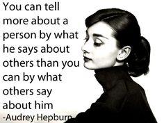 Audrey Hepburn character