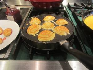 Ebelskiver pan and breakfast Ebelskivers