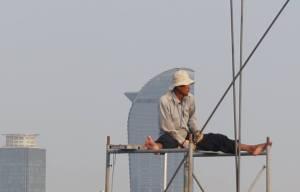 Phnom Penh Construction Worker