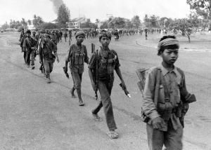 Child soldiers of the Khmer Rouge, 1975