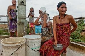 Cambodian bath