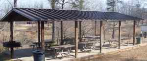 tin roof shelter