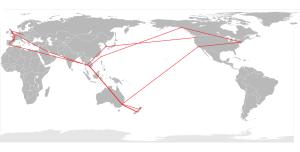 World Map Aus Centre 02