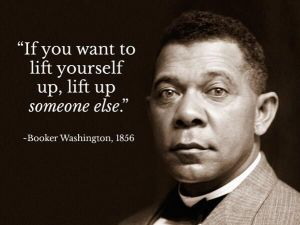 Lift up someone else