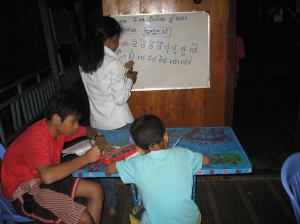 Photo and story courtesy of Phter Koma Kampong Cham, home for children living with and orphaned by HIV