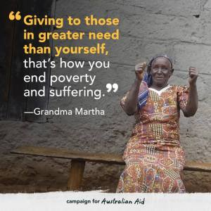 Giving to end poverty