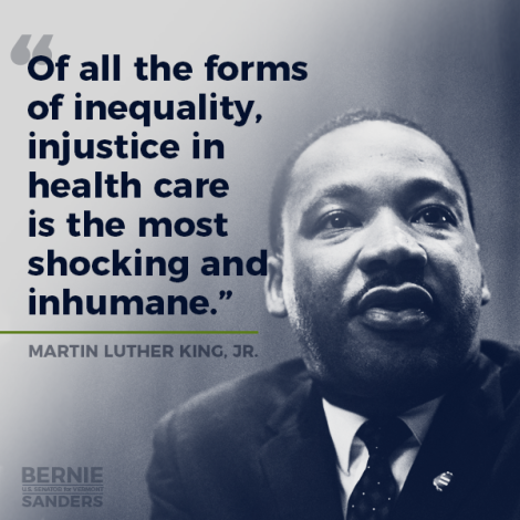 Inequality in Health Care MLK